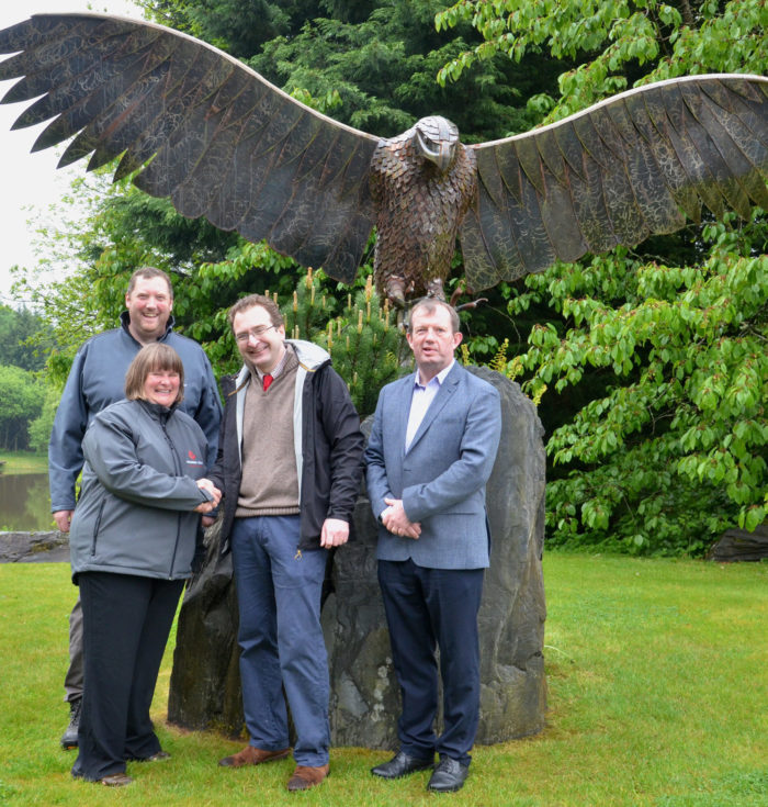 David Bellamy special award for holiday park's osprey project partnership